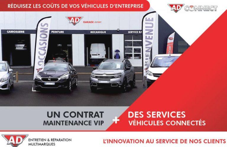 Le réseau AD, en partenariat avec Optimum Automotive, lance Ad Connect, une offre connectée pour les flottes professionnelles.