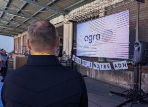 Les adhérents et fournisseurs présents à la convention organisée par l'Agra ont découvert, en avant-première, le nouveau logo du groupement.