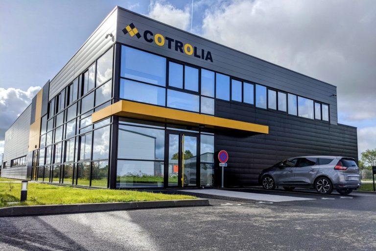 Le spécialiste de la rénovation électronique, Cotrolia, a investit deux millions d'euros dans son nouveau siège social. © Cotrolia