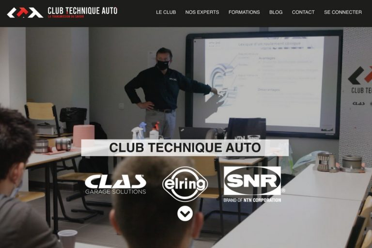 Le Club Technique Automobile (CTA) a dévoilé son site web, coconstruit par Clas, NTN-SNR et Elring.