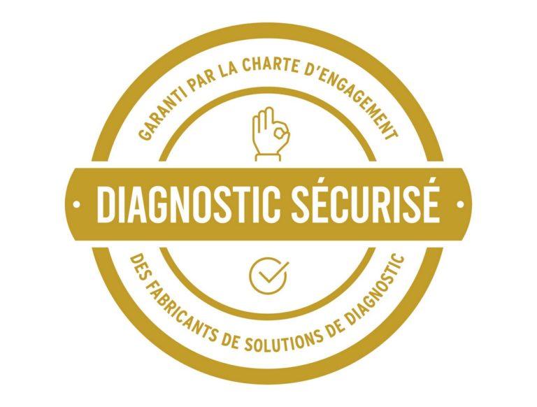 """Le logo """"diagnostic sécurisé"""" permettra aux fabricants signataires de la charte d'indiquer aux réparateurs que leurs outils de diagnostic répondent aux niveau de conformité attendu."""