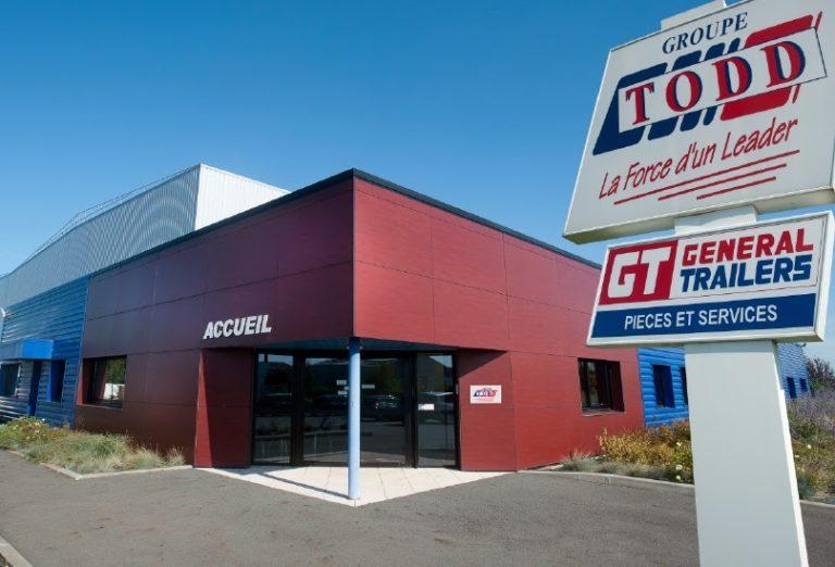 Les 35 agences Todd vont adopter le panneau MP Truck.