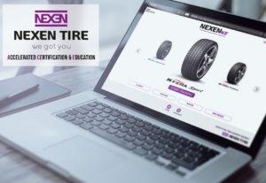 La plateforme Nexen Ace constitue, pour les distributeurs de la marque de pneumatiques, un support de vente plus complet et engageant.